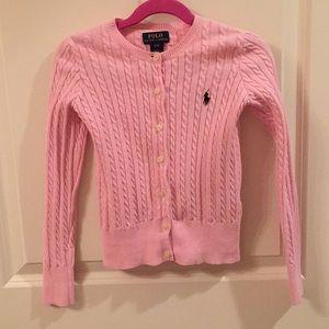 Polo Ralph Lauren Light Pink Cardigan